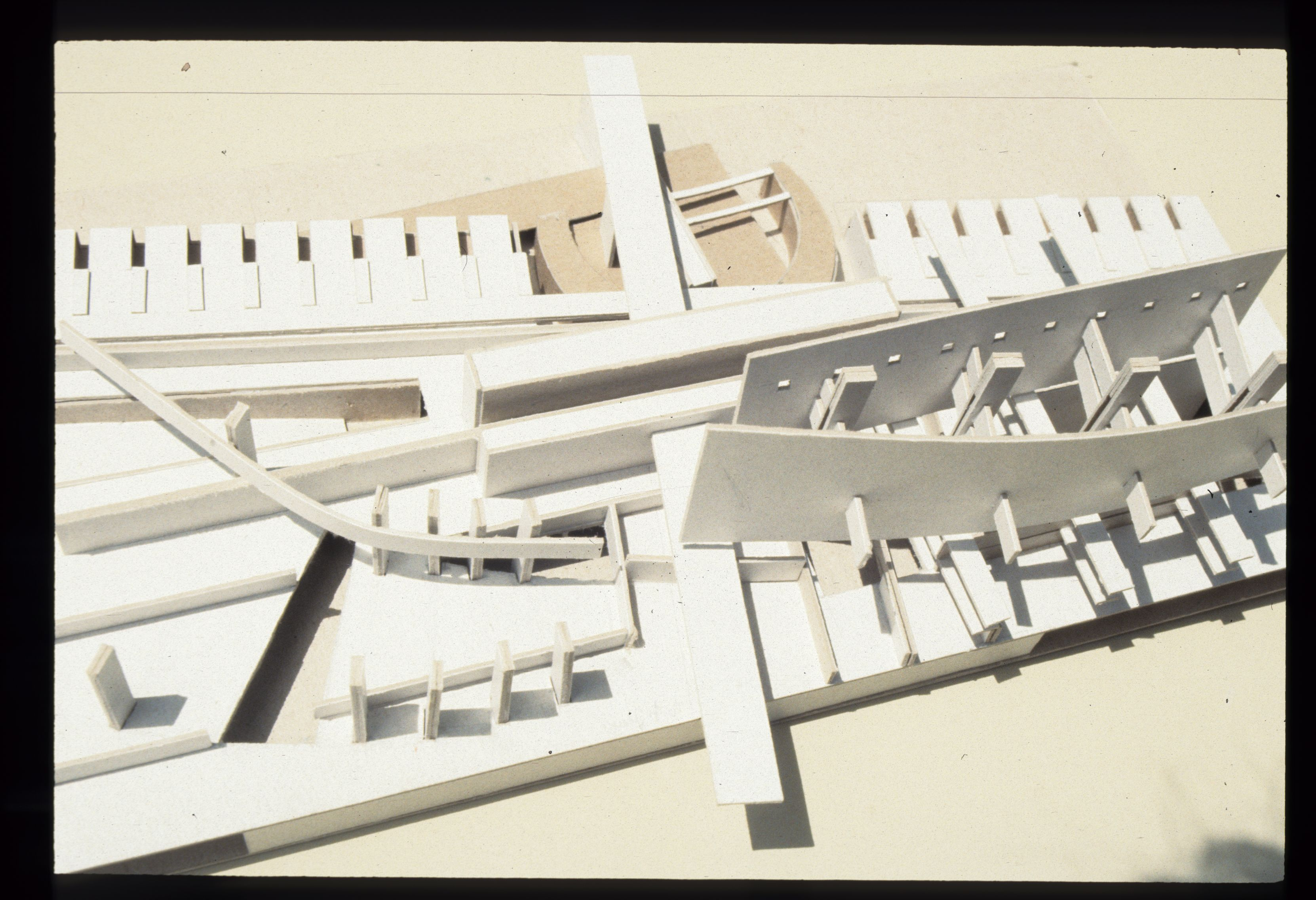 chaos versus order as a premise for architectural design  a new home for college of architecture