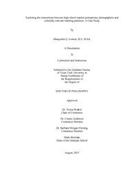 Essay on perceptions on education
