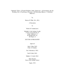 Apa format essay example